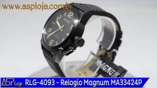 eeba1ca3f41 RLG 4093 Relogio Magnum Masculino Esportivo Analógico MA33424P