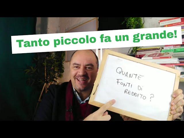 Fonti di reddito multiple (Educazione Finanziaria by Coach Sebastiano for Kuvera)