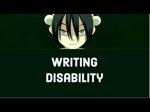 Avatar: The Last Airbender/Legend of Korra - Writing Disability