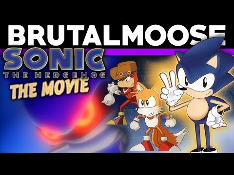 Sonic The Hedgehog The Movie Vhs Review Brutalmoose Youtube
