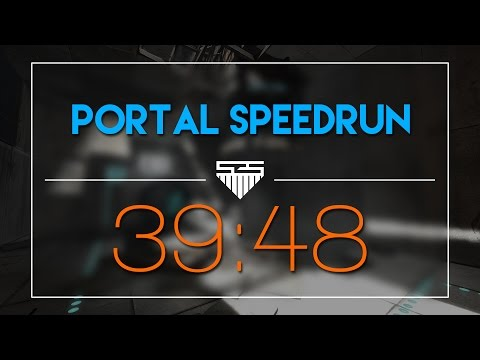 Portal in 39:48 | Speedrun (Glitchless)