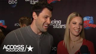 Maksim Chmerkovskiy & Heather Morris Talk Competing On 'Dancing With The Stars'