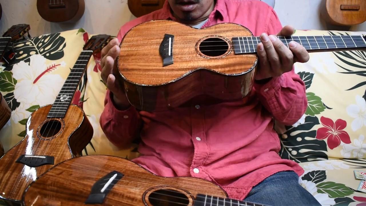 NEW/Enya Music EUC-K5 CONCERT【管理番号1~3】弾き比べ動画 @ukuleleshoptantan