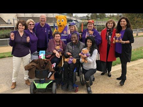 Rotary celebrates World Polio Day 2017 at London Olympic Park