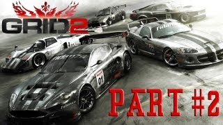 GRID 2 Gameplay Career Walkthrough Guide PC G25 Dodge Charger FreeStyle Xtreme Overtake Very Hard