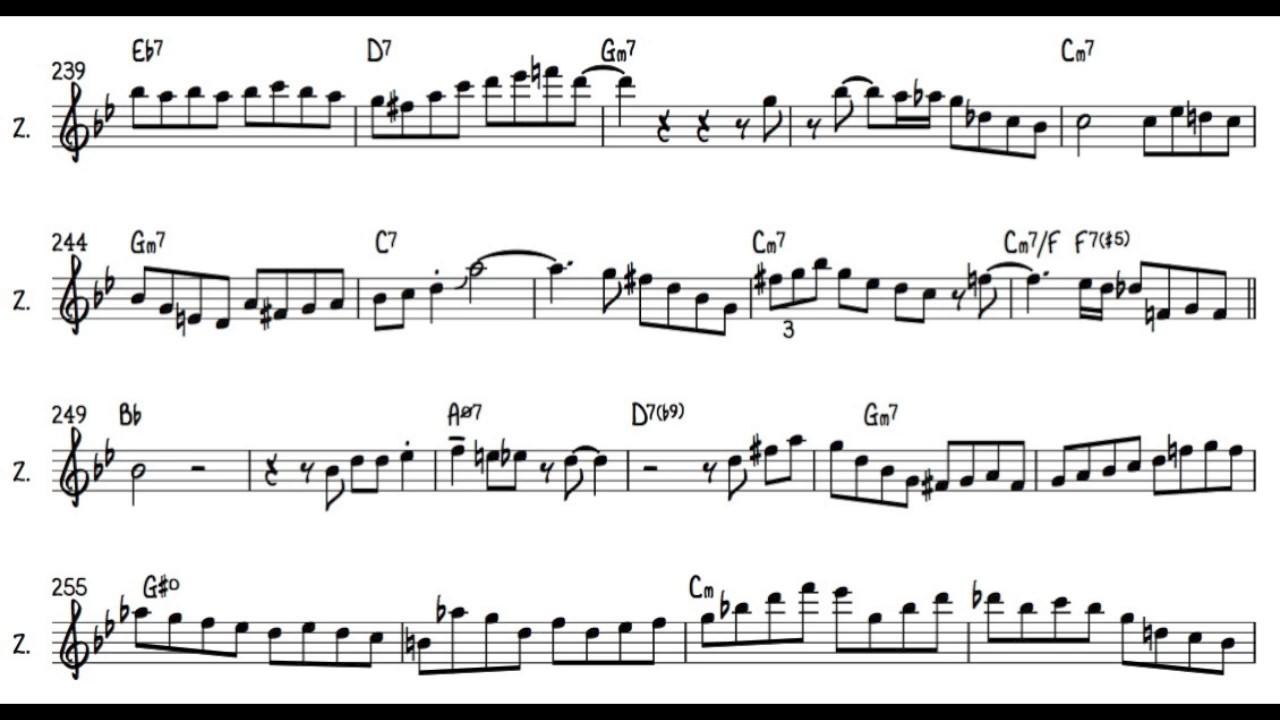 Jazz Solos Transcriptions | Scoop it