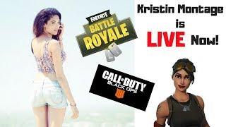 FORTNITE // Live // Gamer Girl // PS4