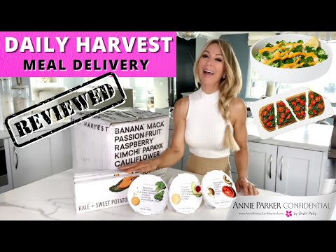 REVIEWED! DAILY HARVEST MEAL DELIVERY