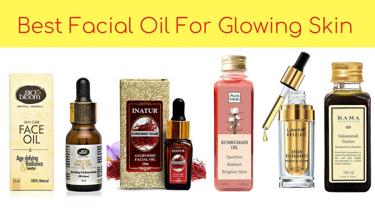 Best Facial Oil For Glowing Skin & Dry Skin Available In India With Price I  Top Face Oils