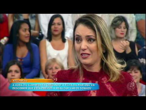 Mariana Vence Desafio E Encontra Zezé Di Camargo E Luciano No Palco Do Hora Do Faro