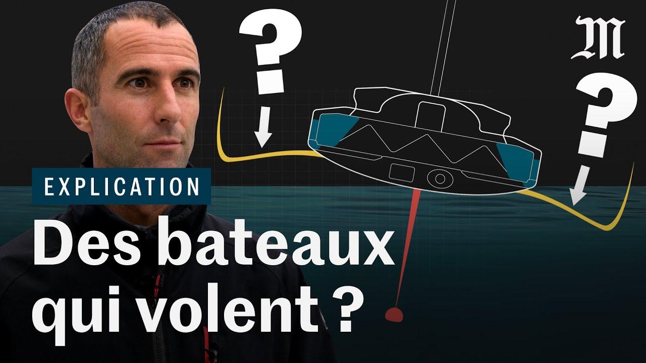 """Vendée Globe : les """"foils"""", la révolution technique qui fait décoller les bateaux"""