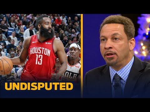 Chris Broussard isn't buying James Harden as the best player in the world | NBA | UNDISPUTED