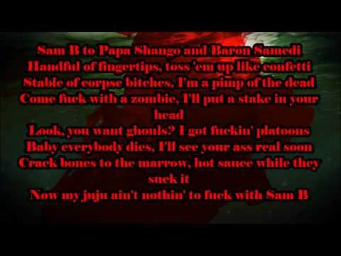 Sam B-Who Do You Voodoo Lyrics theme Background