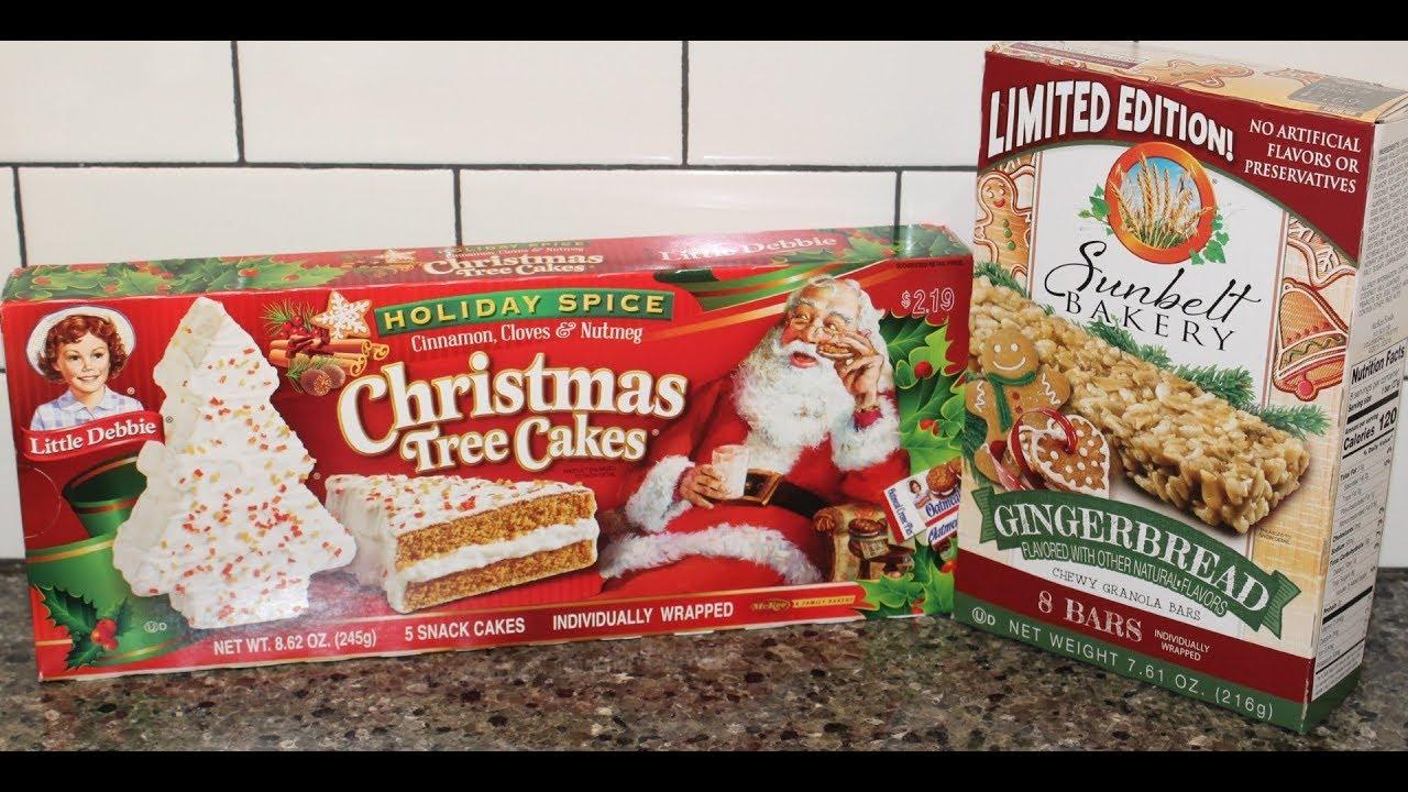 Little Debbie Holiday Spice Christmas Tree Cakes Sunbelt Bakery