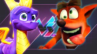 Spyro Vs. Crash - Which Is Better? | Versus