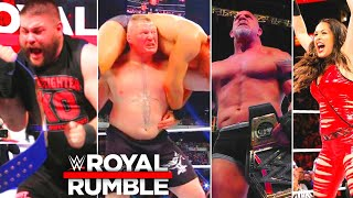 WWE Royal Rumble 1 February 2021 Winners Results & Highlights | Royal Rumble 2021 Return-Highlights