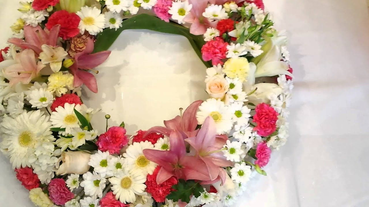 Funeral Flower Wreath Melbourne Youtube
