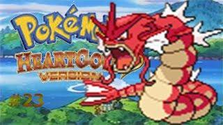El lago del Gyarados rojo/Pokemon Heart Gold #23