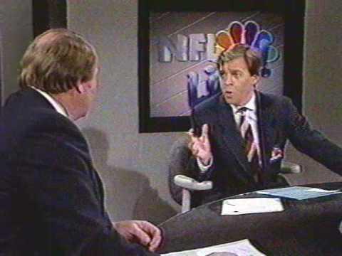 1987 Week 12 Halftime Report with Bob Costas, Paul Maguire, Ahmad Rashad Pt. 1