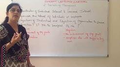 Subordinate Individual Interest to General Interest Principle of Management Business Studies CBSE