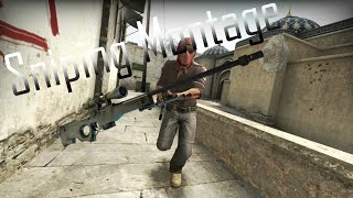 First Awp Sniping Montage - CS:GO