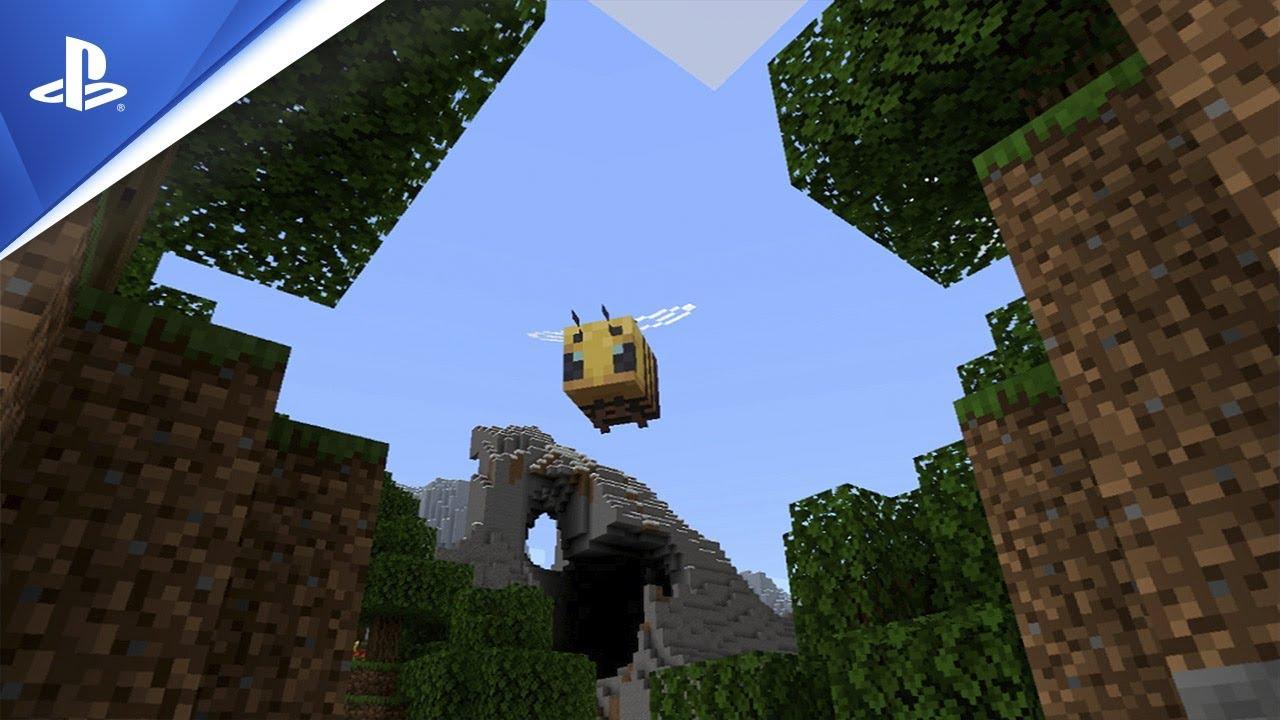 Minecraft for PSVR | Launch Trailer | PSVR