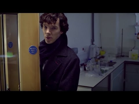 Sherlock and John's First Meeting - A Study In Pink - Sherlock - BBC