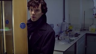 Sherlock and John's First Meeting | A Study In Pink | Sherlock | BBC