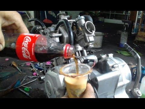 WAU Poles Crom Mesin Mudah Dengan Coca Cola