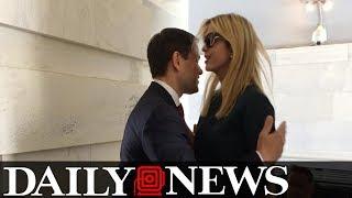 Marco Rubio Calls For Joke Investigation Into Botched Ivanka Hug