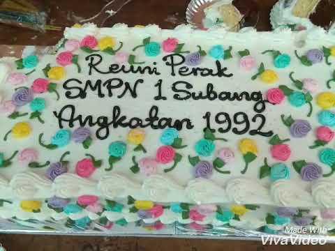 REUNI PERAK ALUMNI 92 SMPN 1 SUBANG