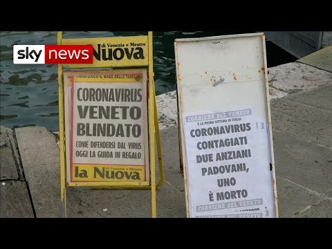 Italy hunts coronavirus superspreader