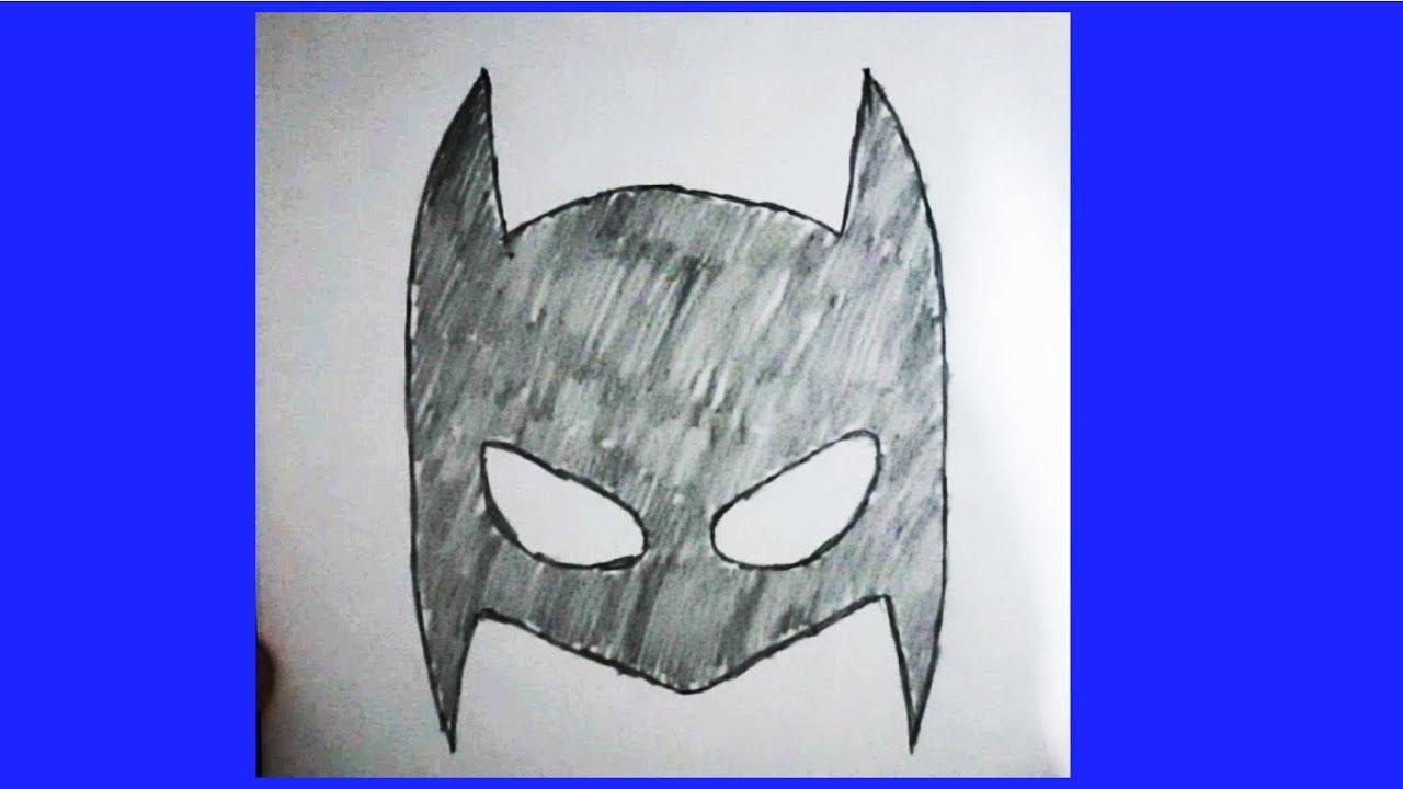 Super Kahraman Maske Cizimi 3 Batman Youtube
