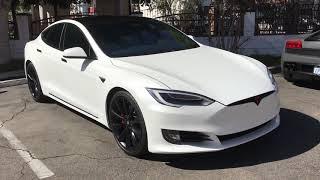 VLOG 4: Tesla Model 3 and Tesla Model S get CUSTOMIZED!