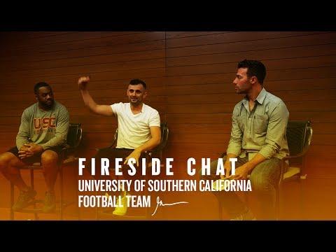 Fireside Chat with University of Southern California Football Team | Gary Vaynerchuk USC 2017
