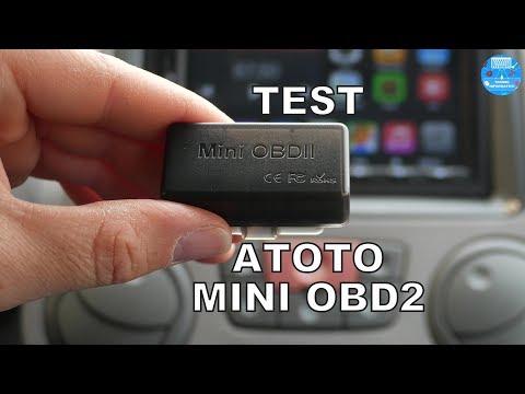 ATOTO AC-4450 Bluetooth OBDII//OBD2/scanner per diagnostica auto per stereo Atoto M4/& A6 Series Android compatibile con app Torque