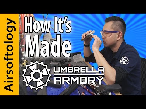 Umbrella Armory - Custom Airsoft: How It's Made | Airsoftology