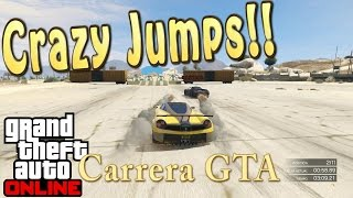 Crazy Jumps-Crusher - Carreras GTA - GTA ONLINE - Mauricio Lewis