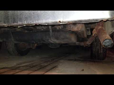 Car Cranking Exhaust