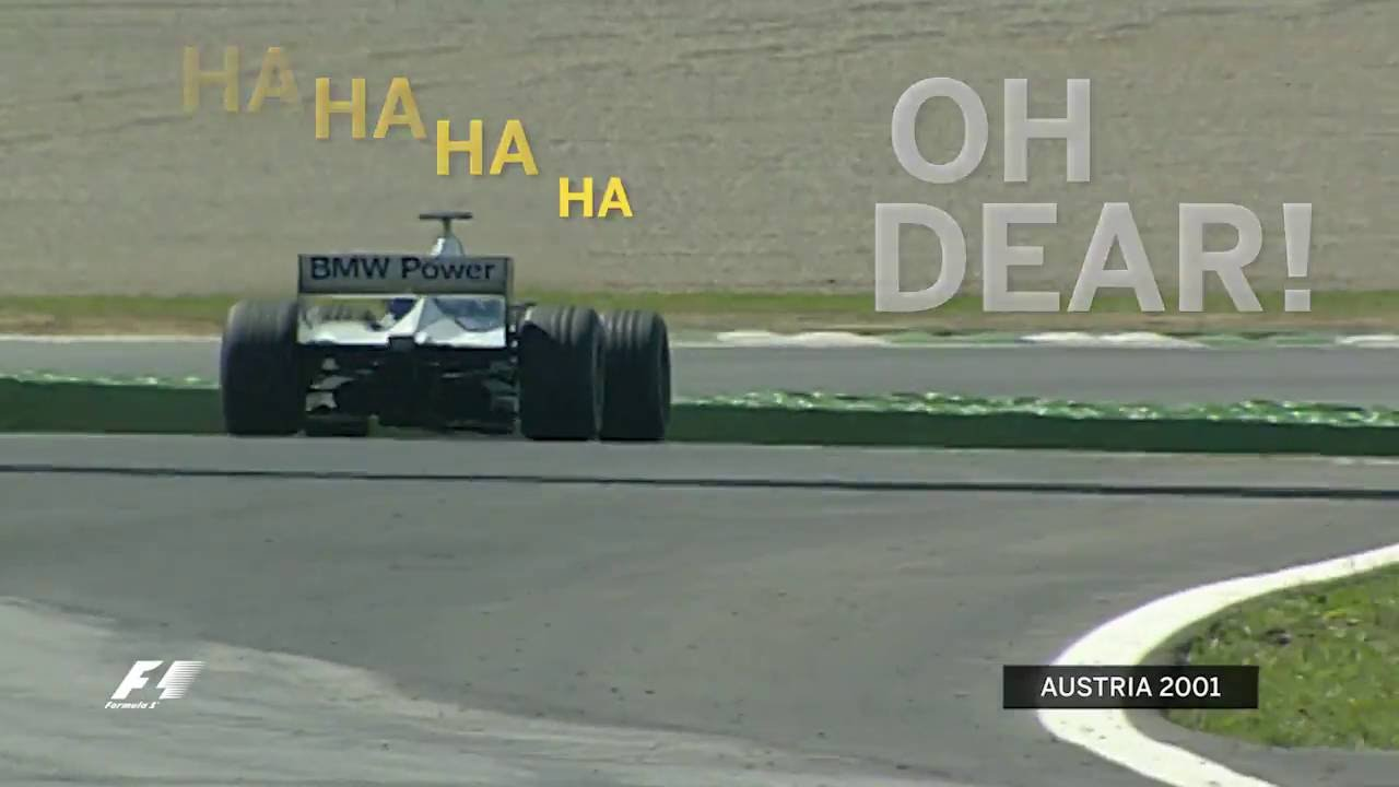 Austria 2001: Juan Pablo Montoya and the deer Video Thumbnail