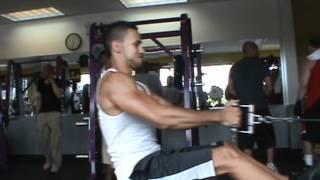 Back & Bicep Workout @ Planetfitness (team Fuerte)