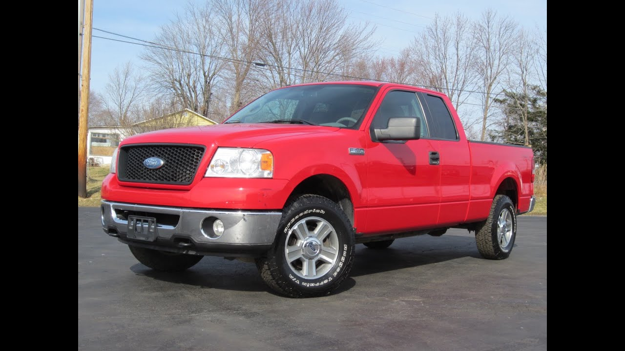 2006 Ford F 150 Engine 54 L V8