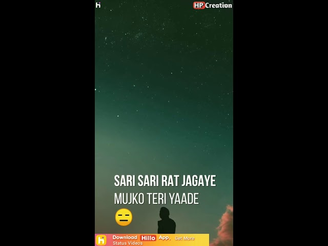 Full screen Sad Status | Full screen WhatsApp Status | Hp Creation