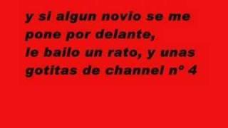 Maria Isabel Antes muerta que sencilla-Karaoke