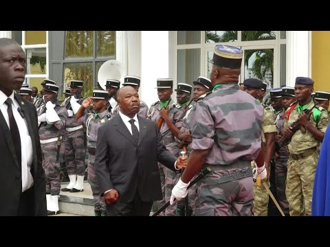 Gabon's Bongo in first live public appearance since stroke | AFP
