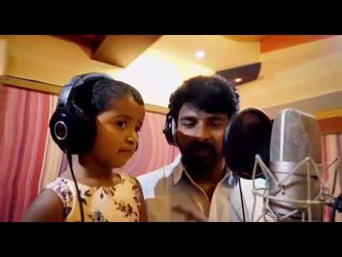 Vayadi petha pulla song Sivakarthikeyean & daughter