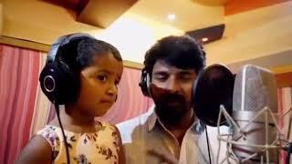Vayadi petha pulla song Sivakarthikeyean & daughter
