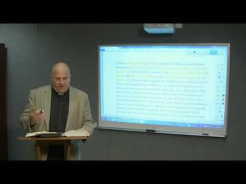 Lectionary Podcast Proper 16  Series C  Luke 13:2230 with Dr. Peter Scaer