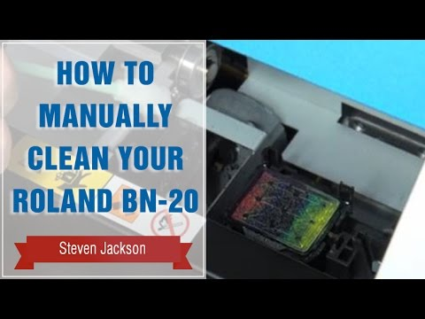 how to manually clean your roland bn 20 youtube. Black Bedroom Furniture Sets. Home Design Ideas