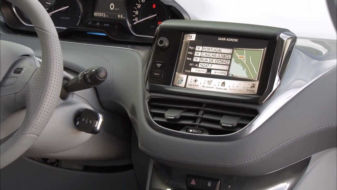 Peugeot New 208 Interior HD 1080p